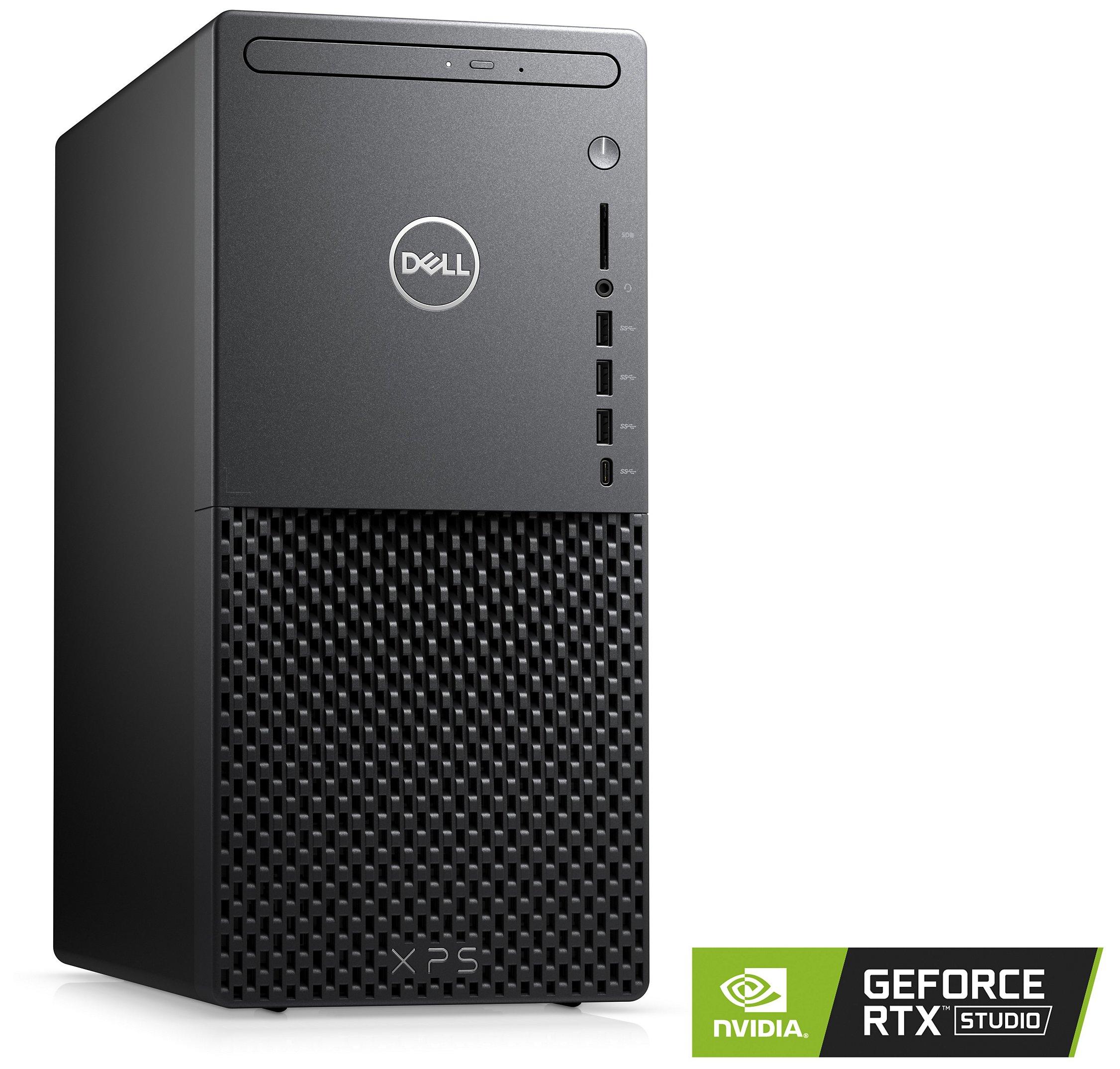 Tour PC Dell XPS - i7-11700, RTX 3060 Ti, 16 Go RAM, 512 Go SSD + 1 To HDD