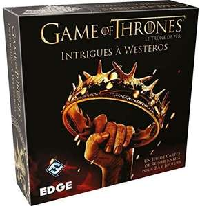 Jeu de cartes Game of Thrones Intrigues à Westeros (via coupon)