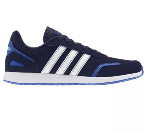 Chaussures de marche Adidas Switch à lacets pour Enfants - Noir/Bleu (Taille 35 au 39)