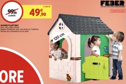 Maisonnette extérieure Feber pour enfants