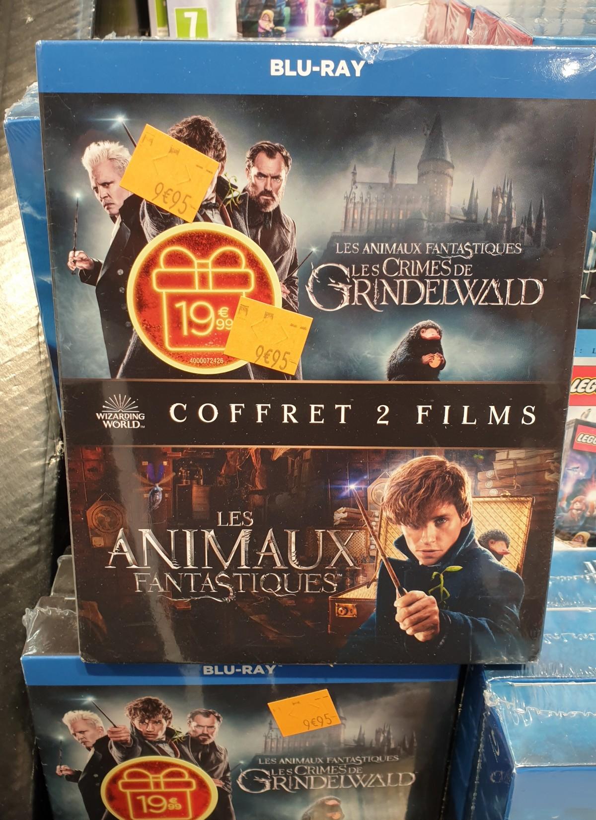 Sélection de coffrets Blu-ray en promotion - Ex : Coffret Les Animaux Fantastiques 1 & 2 (Isle d'Abeau 38)