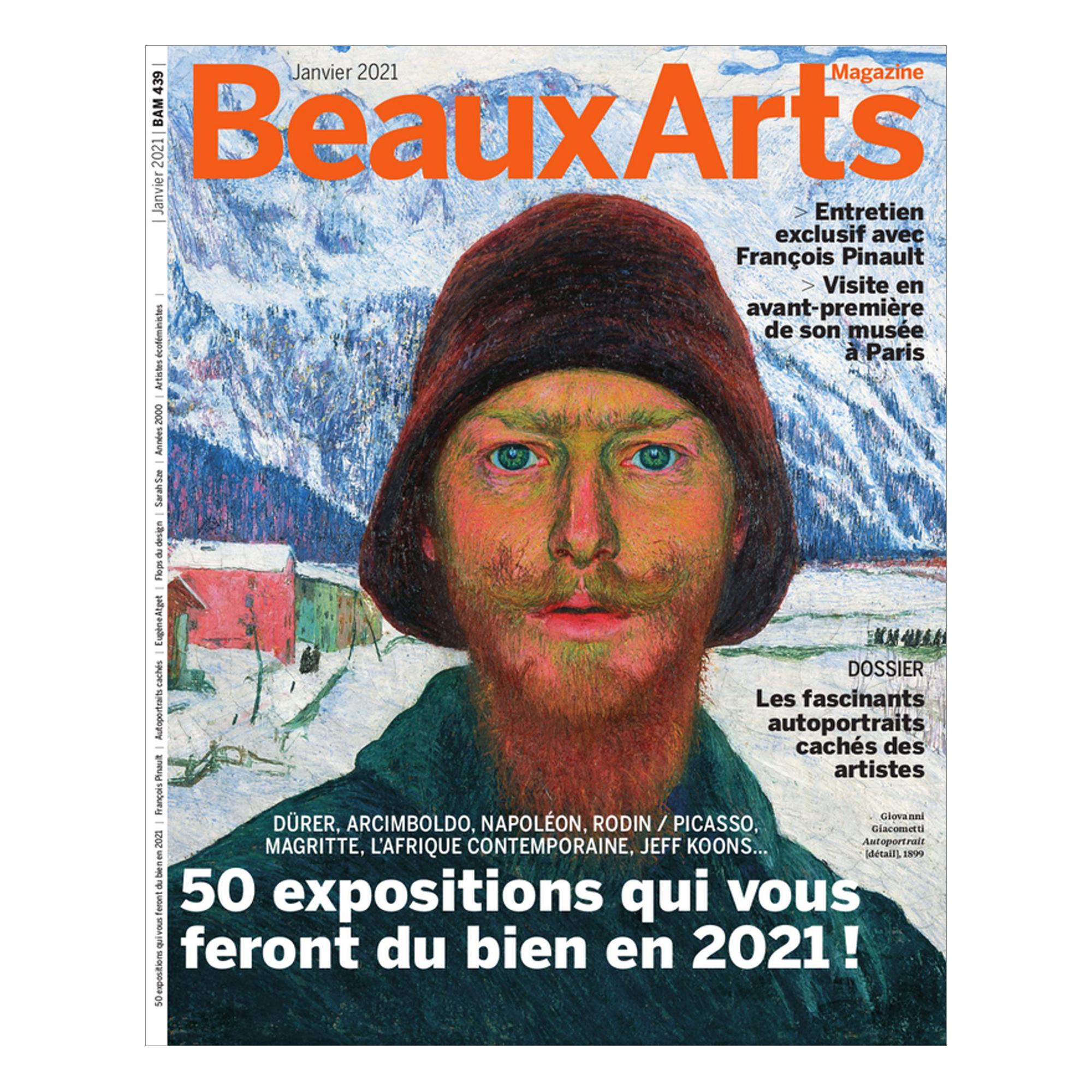 Abonnement de 10 Mois à Beaux Arts Magazine - Format papier