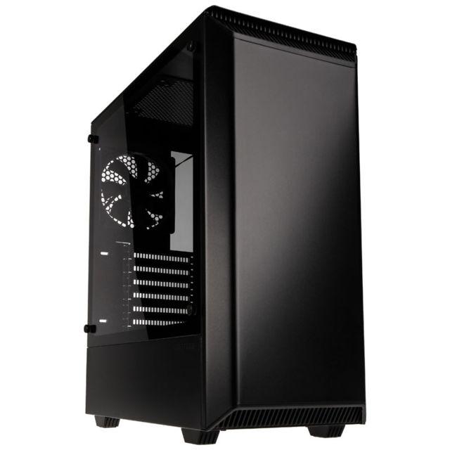 Boîtier PC Phanteks Eclipse P300 Noir - ATX, vitre en verre trempé
