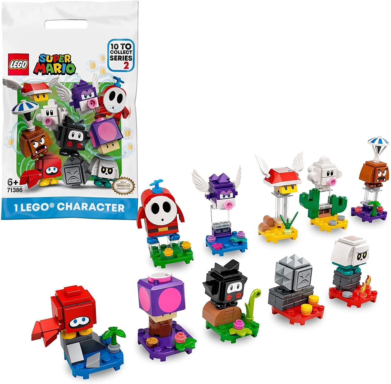 Jouet Lego Super Mario 71386 - Pack Surprise de Personnage Série 2 (Modèle aléatoire)