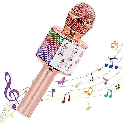 Microphone sans fil pour Karaoké - Coloris au choix (Via coupon - Vendeur tiers)
