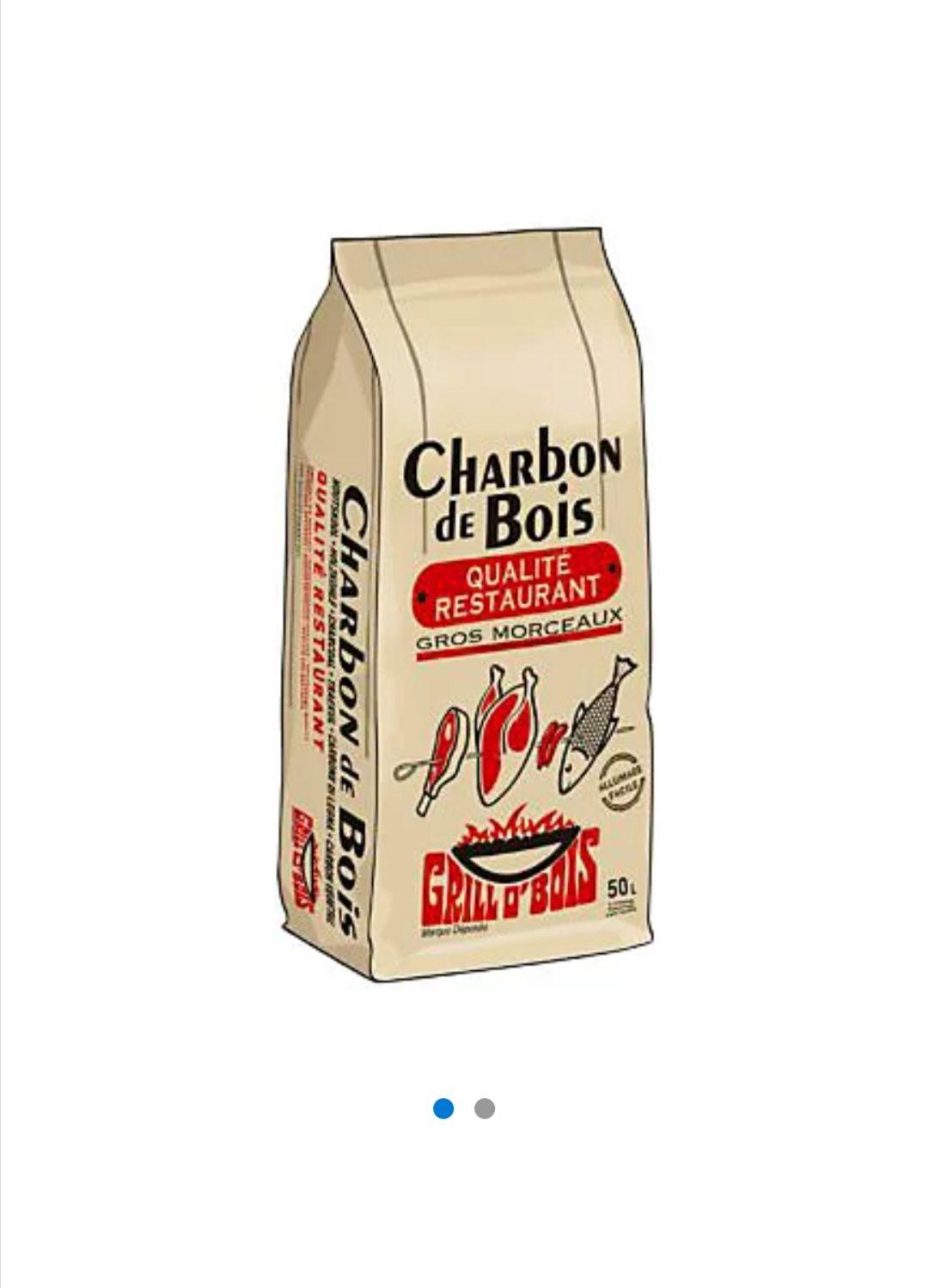 Charbon de bois pour barbecue Grill'O'Bois (50 L) - Halle o Discount Lognes (77) / Noiseau (94)