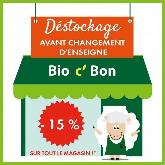 15% de réduction sur tout le magasin - Clamart (92)
