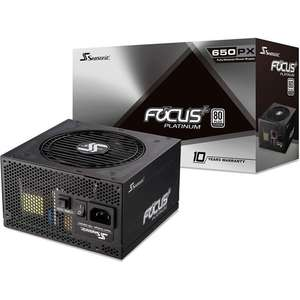 Alimentation PC Seasonic Prime Focus Platinum - 650 W 80 Plus Platinum