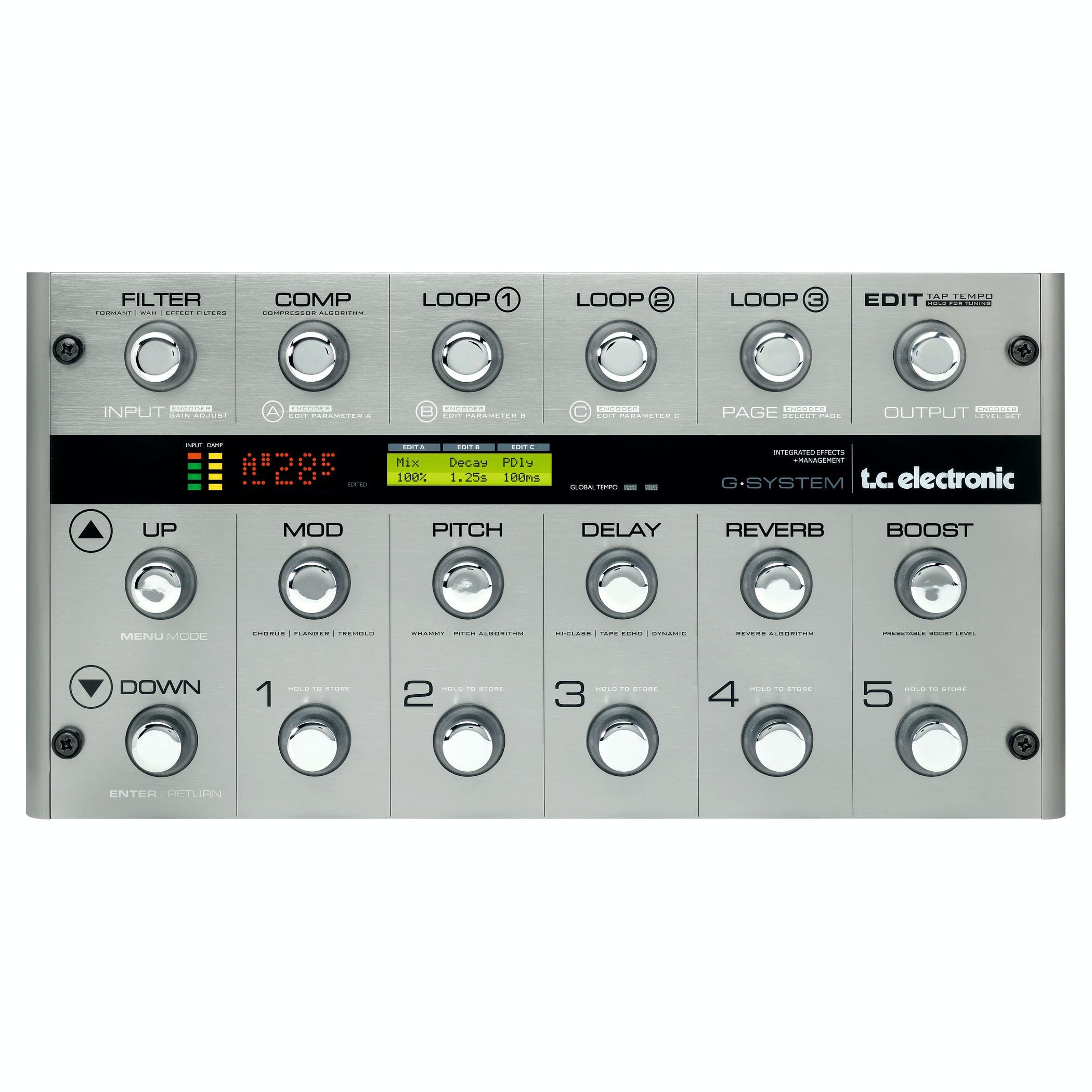 Multi-effets guitare TC Electronic G-System (Frais d'importions compris)