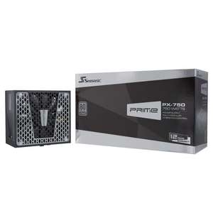 Alimentation PC modulaire semi-passive Seasonic Prime PX-750 - 80+ Platinum, 750W
