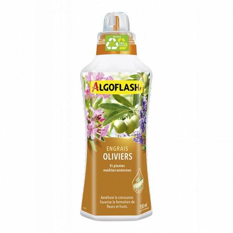 Engrais Algoflash oliviers plantes méditerranéennes 750 ml (via ODR de 3€)