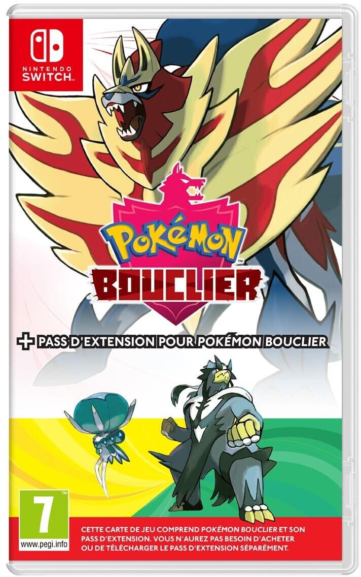 Pokémon : Bouclier + pass d'extension sur Switch