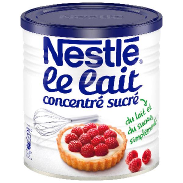Boîte de Lait Concentré Sucré Nestlé - 1 kg
