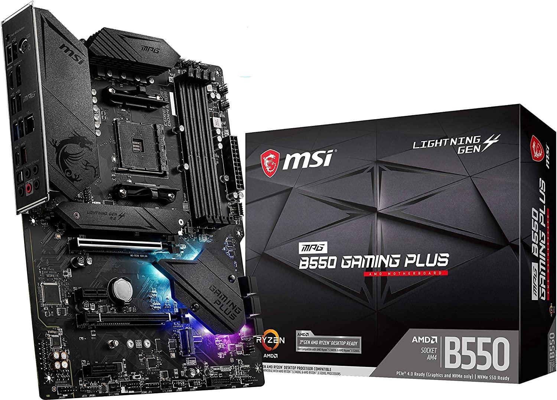 Carte Mère MSI MPG B550 Gaming Plus - AM4