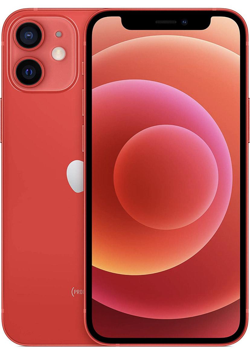 "Smartphone 5.4"" Apple iPhone 12 Mini - 4 Go RAM, 128 Go, Rouge"