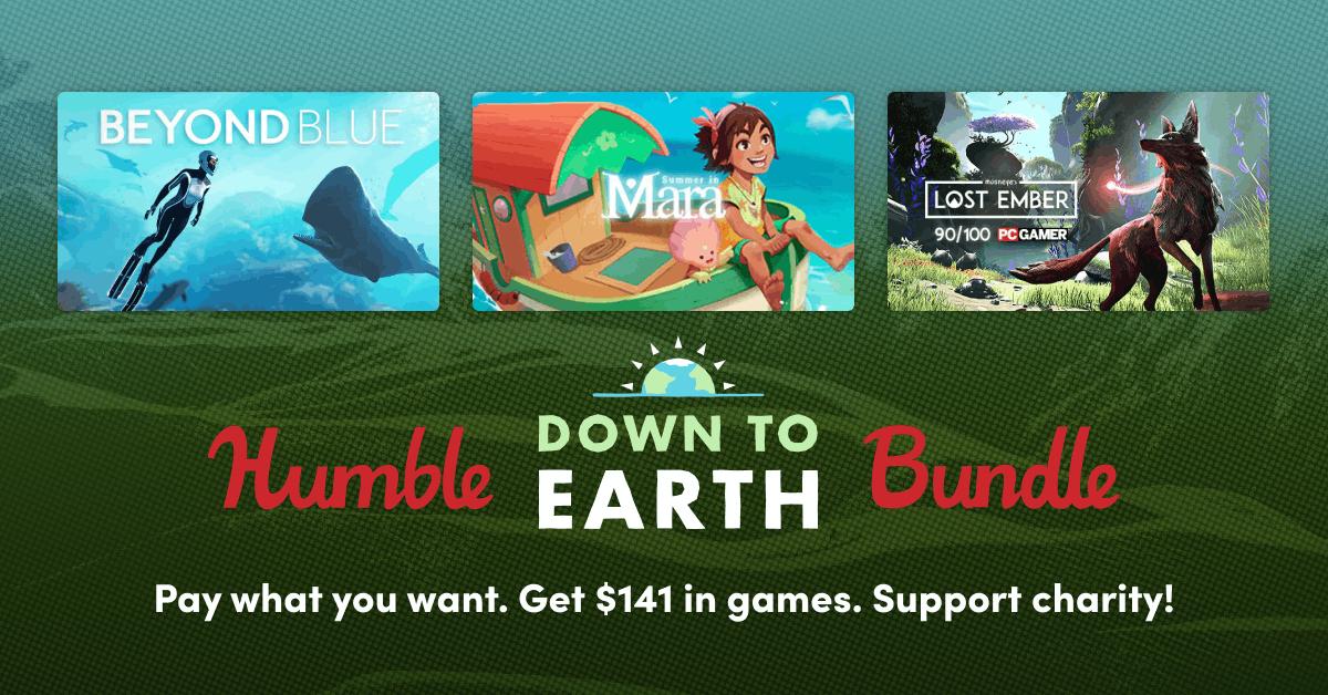 Humble Down To Earth Bundle : Yono and the Celestial Elephants et Figment à partir de 1€ (Dématérialisé - Steam)