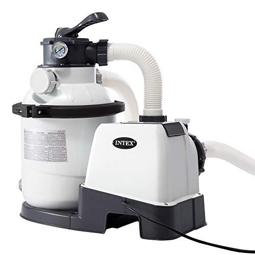 Filtre à Sable Intex 1200 Gph - 4m3/h, Blanc