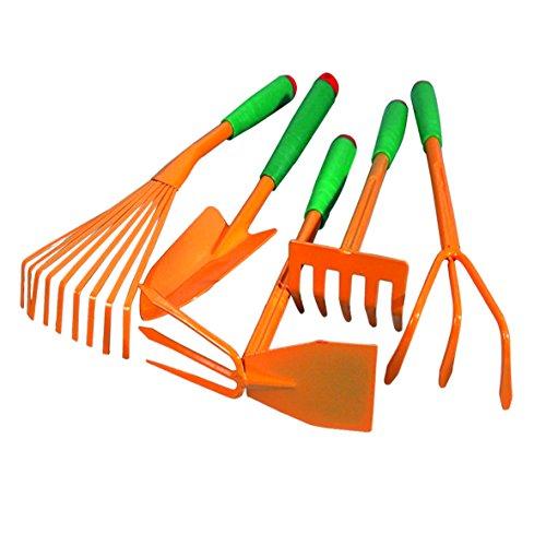 Lot de 5 outils de jardinage Kippen