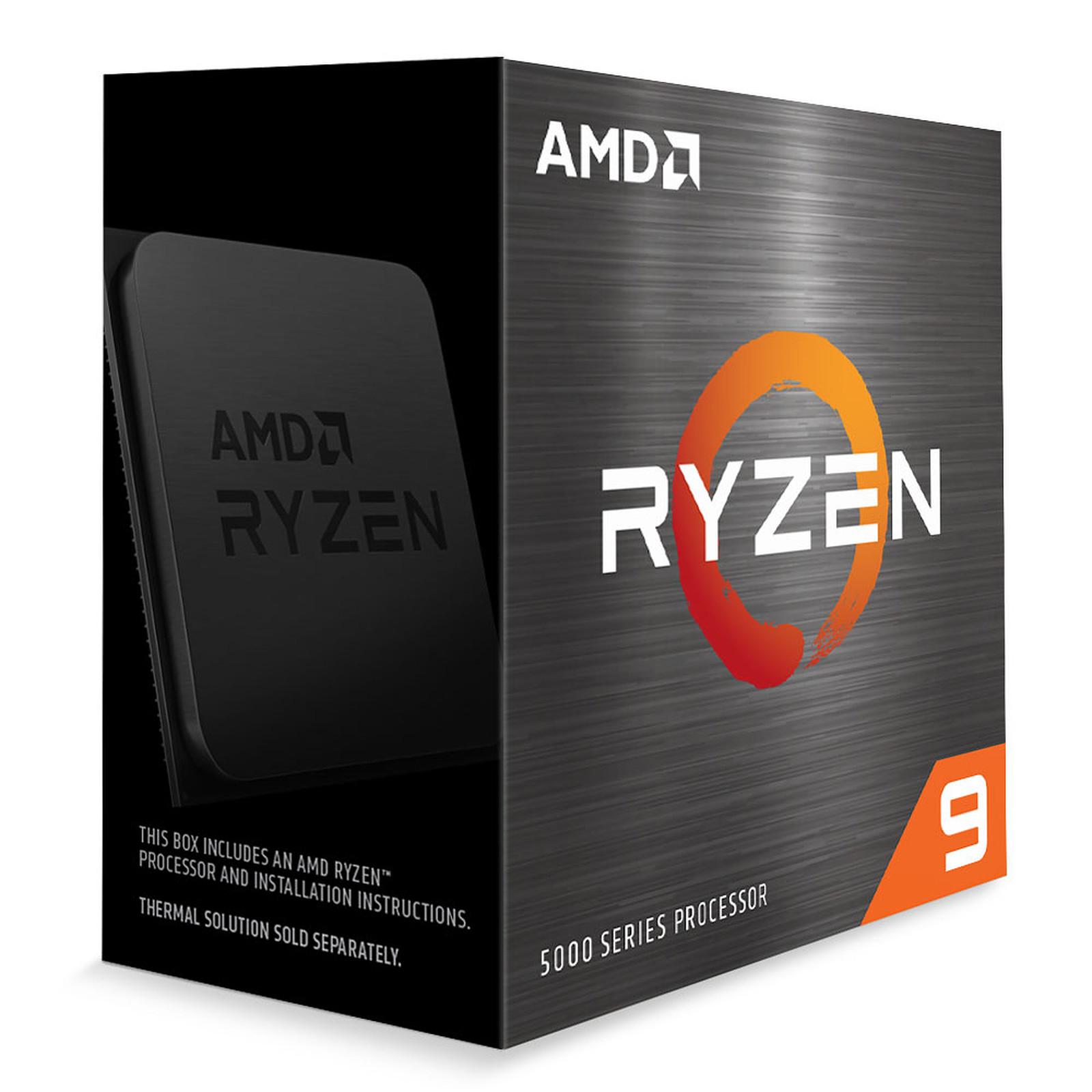 Processeur AMD Ryzen 9 5950X - AM4, 4.90 GHz, 16 cœurs