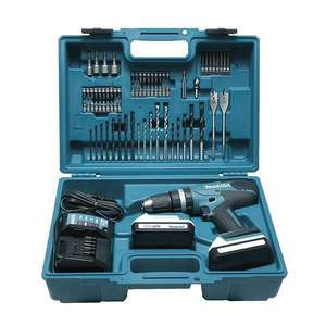 Coffret Perceuse visseuse à percussion MAKITA HP457DWE10