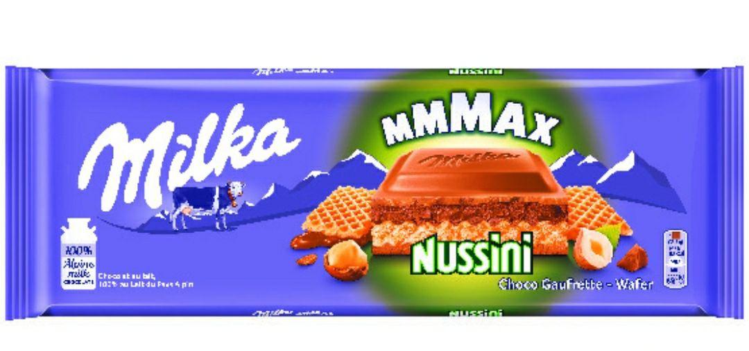 Tablette de chocolat Milka Mmmax - Différentes variétés, 300g