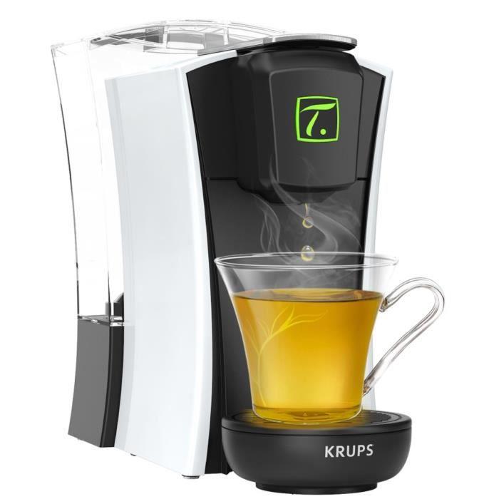 Machine à thé à capsules Krups YY4122FD Spécial T Mini.T - Blanc