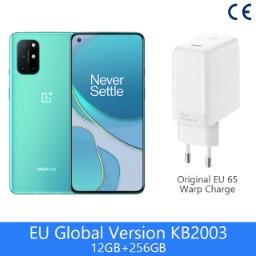 "Smartphone 6.55"" OnePlus 8T 5G (KB2003) - 12 Go de RAM, 256 Go, Vert (Entrepôt France)"