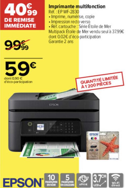 Imprimante multifonctions Epson EP WF-2830