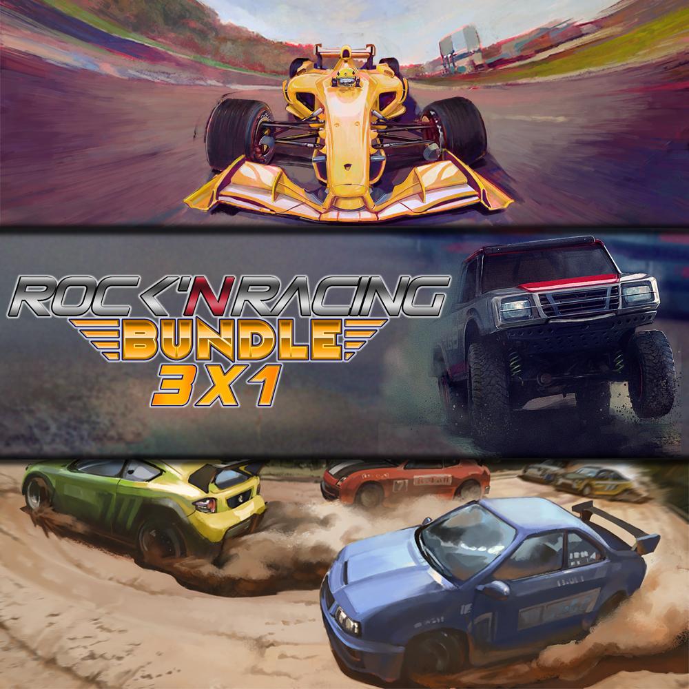 Rock 'N Racing Bundle 3 in 1 sur Nintendo Switch (Dématérialisé)