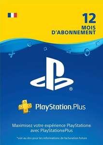 Abonnement Playstation Plus (PS+) de 12 Mois (Dématérialisé)
