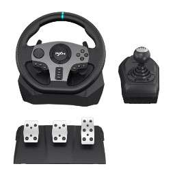 Volant de course à vibration PXN V9 + Pédalier pour PS3, PS4, Xbox One et PC (Via Coupon)