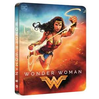 Blu-ray 4K Wonder Woman Steelbook - Edition Comic
