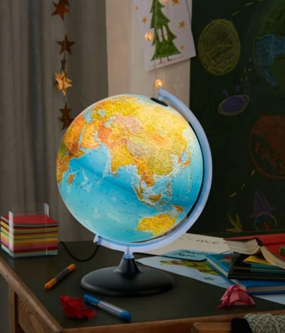 Globe terrestre lumineux Melinera - Ø 30cm (Saint-Estève 66)