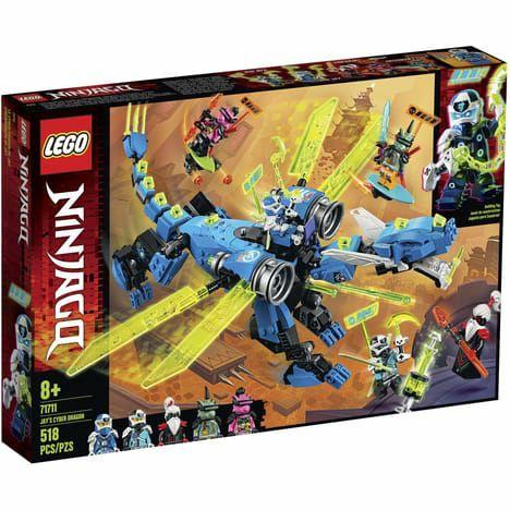 LEGO Ninjago 71711 - Le Cyber Dragon de Jay