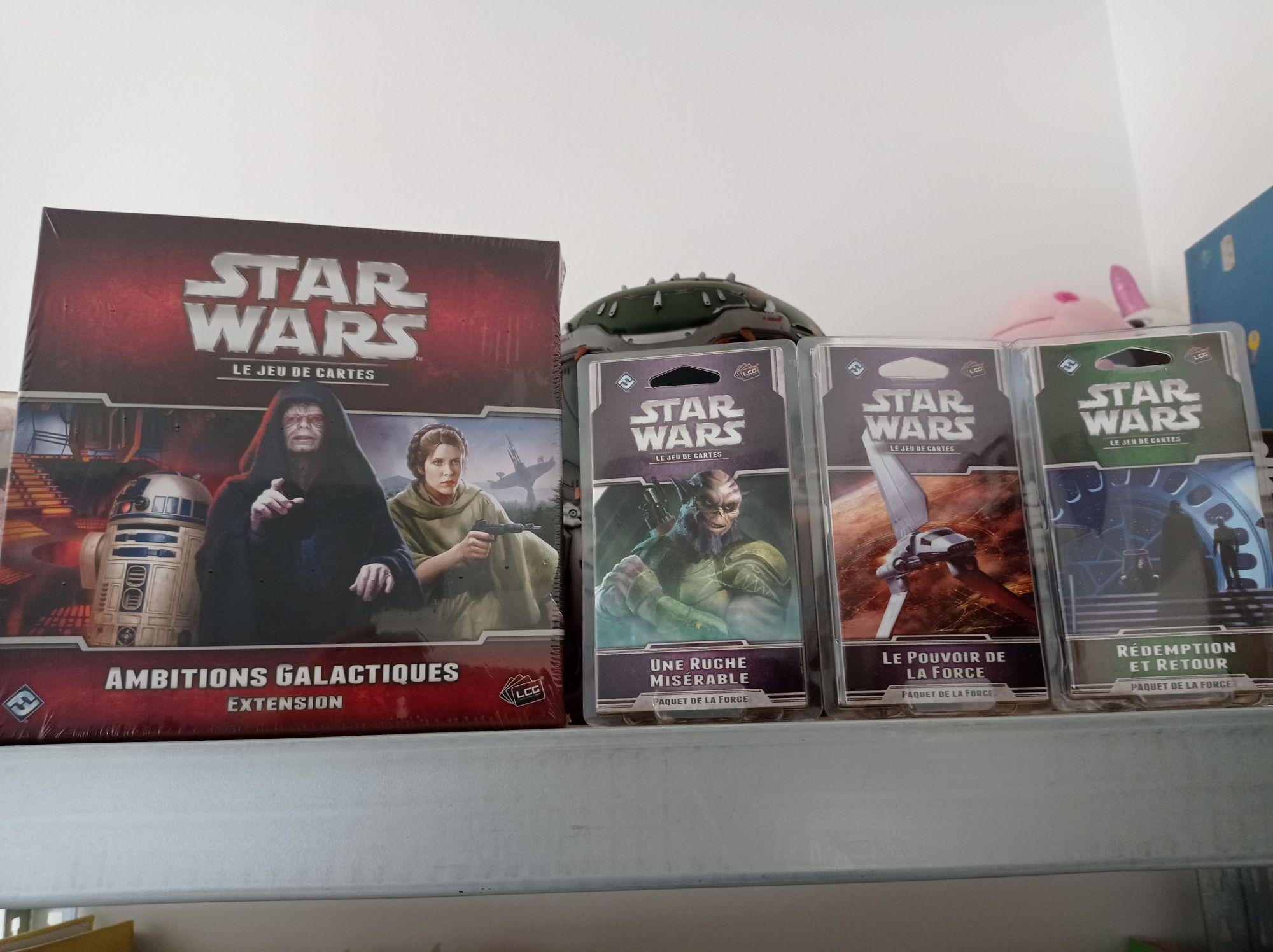 Sélection d'extensions jeux de cartes Star Wars JCE - Chantepie (35)