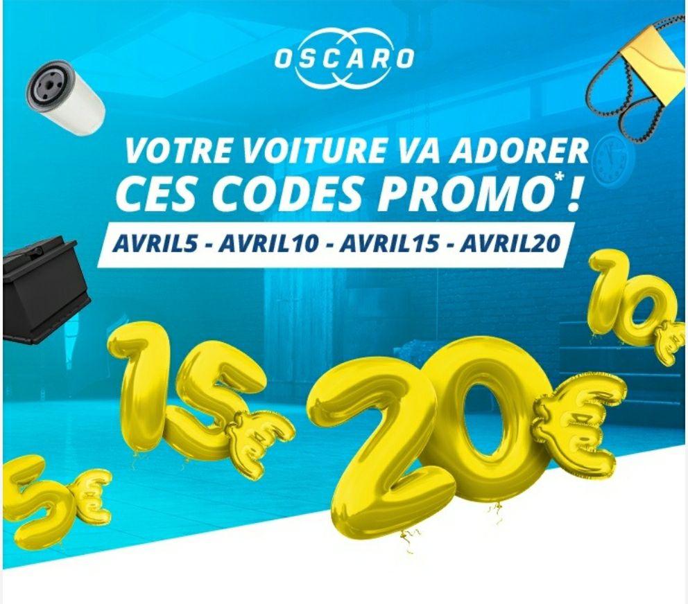 Jusqu'à 20€ de réduction - 5€ de réduction dès 50€ d'achat, 10€ dès 100€, 15€ dès 150€ et 20€ dès 200€