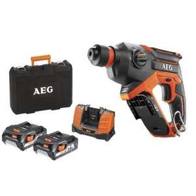 Perforateur compact sans fil AEG Pro 18V - 2 batteries 2.0Ah, 1 chargeur, coffret