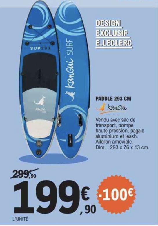 Paddle gonflable Kangui - 293cm