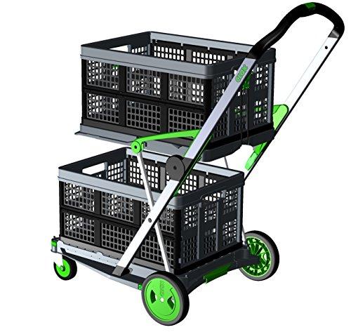 Chariot pliable Clax avec 2 bacs pliables (Vendeur tiers)