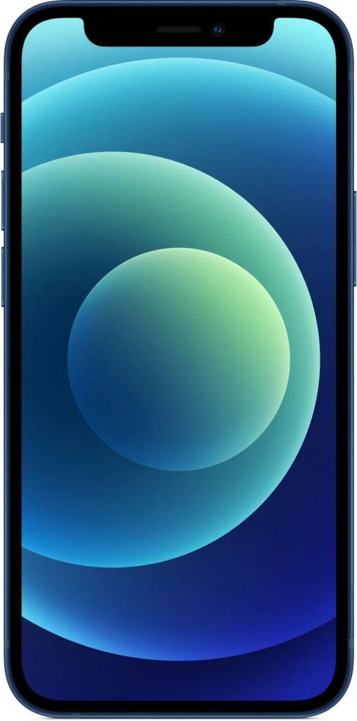 """Smartphone 5.4"""" Apple iPhone 12 Mini - 64 Go, Bleu (+19.95€ en Rakuten Points)"""