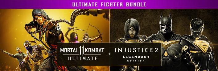 Pack Mortal Kombat 11 Ultimate + Injsutice 2 Legendary sur PC (Dématérialisé)