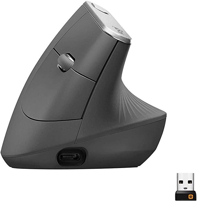 Souris ergonomique verticale sans-fil Logitech MX Vertical