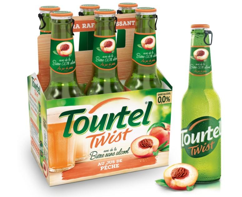 Paquet de 6 Bières sans alcool Tourtel Twist - 6 x 27.5cl