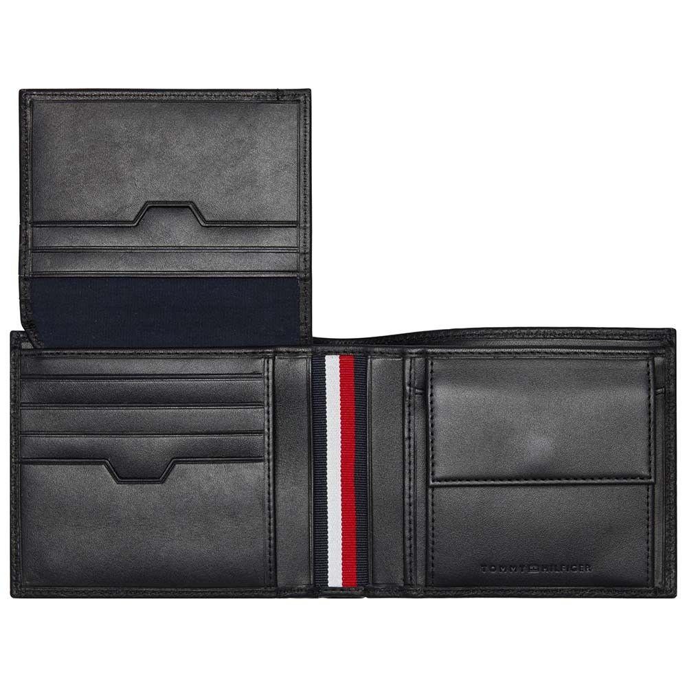 Portefeuille en cuir à trois volets Tommy Hilfiger Downtown (22,80€ nouveaux clients) - otrium.fr