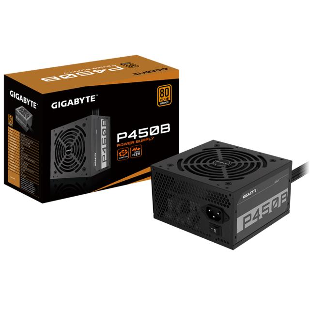 Alimentation PC Gigabyte P450B - 450W, 80+ Bronze