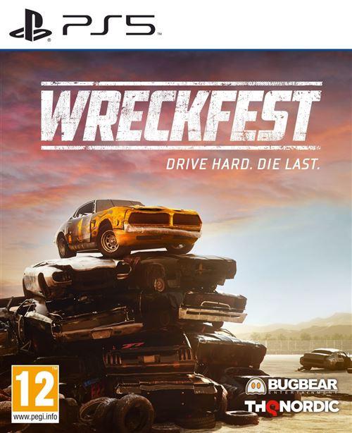 [Précommande] Wreckfest sur PS5