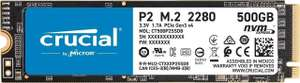 SSD interne M.2 NVMe Crucial P2 (CT500P2SSD8) - 500 Go