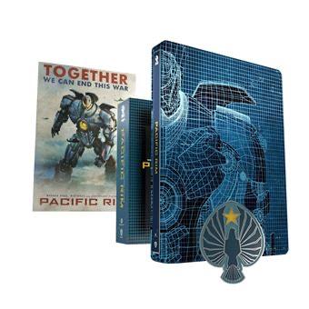 Coffret Blu-Ray 4K Pacific Rim Steelbook Edition Collector: Titans of Cult Edition