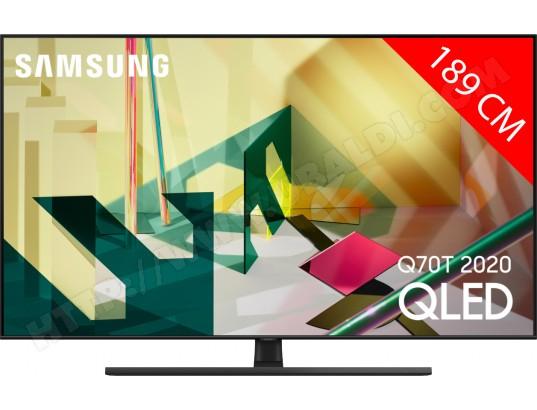 "TV 75"" Samsung 75Q70T (2020) - QLED, 4K UHD, Smart TV"