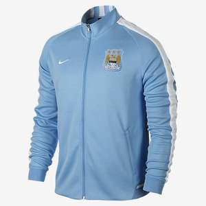 Veste de survetement Homme rétro Manchester City FC Authentic N98